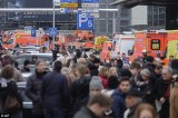 Hamburg Airport evacuated 'after a gas leak in the terminal leaves 50 people in hospital