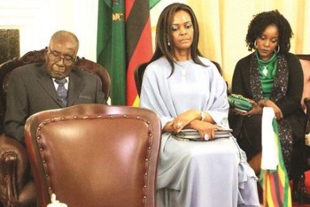 Gloomy Mugabe Family Gets Zimbabweans Talking