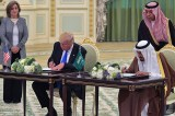 Trump strikes arms deal with Saudis worth $350bn, $110bn to take effect immediately