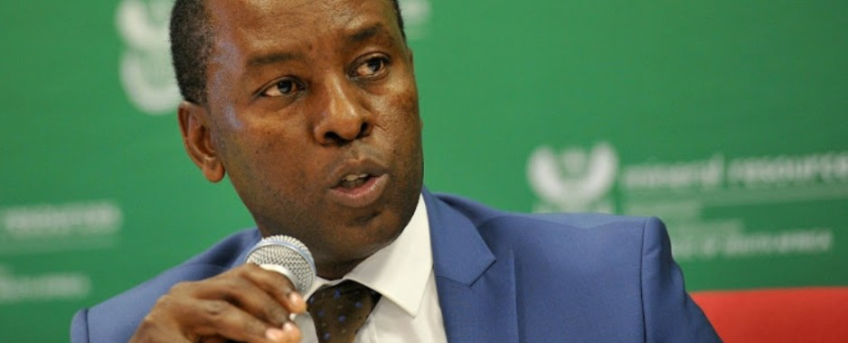 South Africa's Mining Minister Chased From Mining Meeting