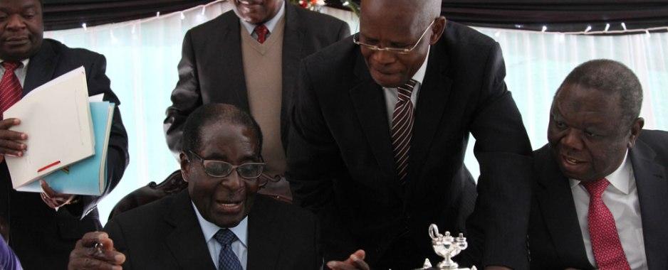 Deposed Vice president Emmerson Mnangagwa back in Zimbabwe, Grace Mugabe has fled to Namibia and Robert Mugabe is detained by military in Zimbabwe