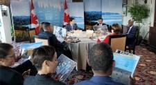 Seychelles President Shocks G7 Meeting With Ocean Trash Photos