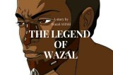 "Wazal the author of the Comic Book ""The Legend of Wazal"""