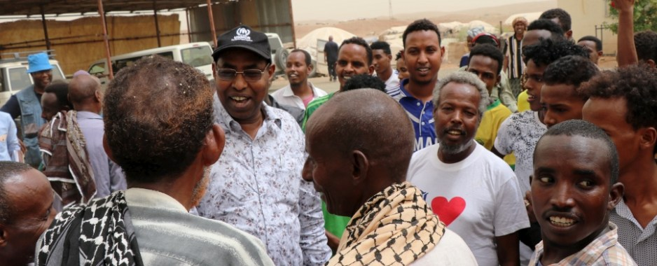 UNHCR Special Envoy for the Somali refugee situation calls for more support for refugees in Eritrea