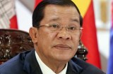 Cambodia awaits results of poll that only Prime Minister Hun Sen can win