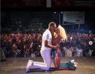 Vanessa Mdee in Trouble for Kissing Hunk Boyfriend Juma Jux On Stage