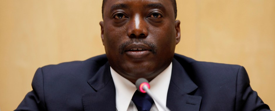 Congo's Kabila appoints army chief under U.S., EU sanctions for alleged violence