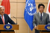 In Tokyo, UN chief expresses full support for US-Japan dialogue with North Korea