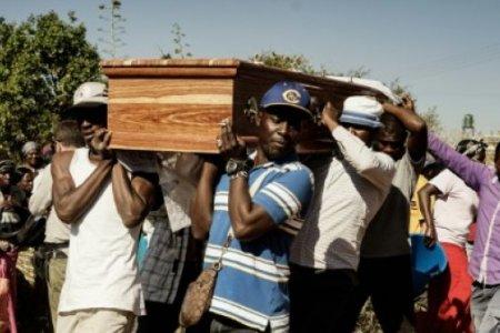 'Shot like a dog': Zimbabwe buries its post-election dead