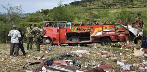 Kenyan Driver of Killer Bus Succumbs to Injuries, Takes Secrets to the Grave