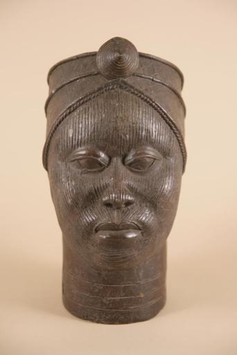 Bronze head of King Oba