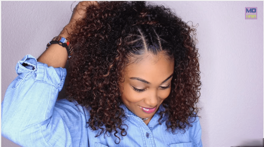 Top Braided Amp Curly Crown Princess Hairstyle