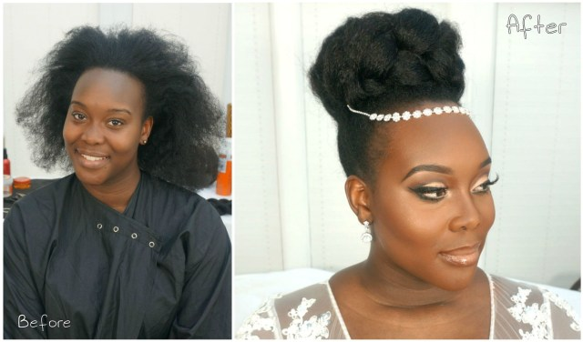 this gorgeous bridal natural hairstyle video tutorial is