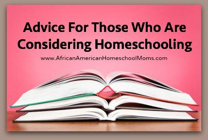 Considering Homeschooling