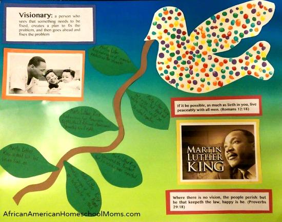 MLK Visionary Poster
