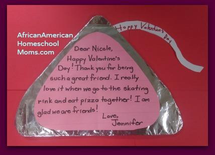 Hershey S Kiss Valentine S Day Craft African American Homeschool