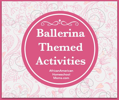 Ballerina Themed Activities