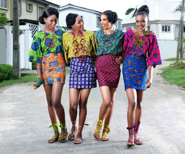 Image result for african fabric dresses