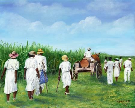 SINGING-OUR-WALK--AFRICAN-AMERICAN-KIP-HAYES-SOUU