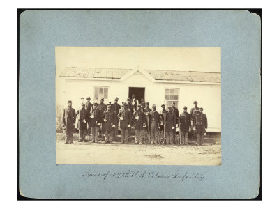 Band of 10th U.S. Colored Infantry
