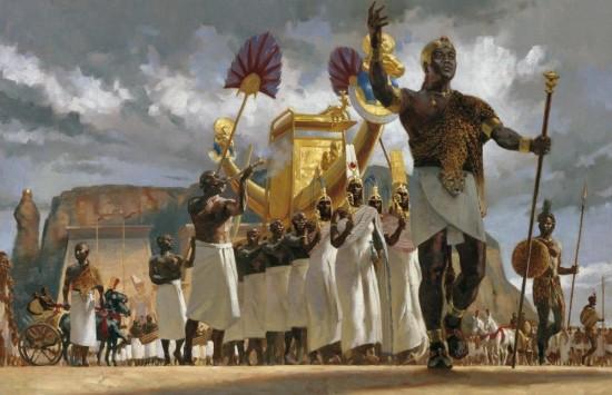 King Taharqa
