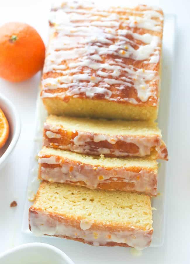 French Orange Yogurt Cake - Immaculate Bites