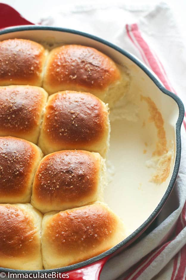 "Samoan Coconut Bread Rolls aka Pani Popo Recipe | Immaculate Bites ""Samoan Coconut Bread Rolls aka Pani Popo. Decadent Sweet Dinner Rolls baked in coconut milk . Light, Airy and Fluffy . Unbelievable good!!"""