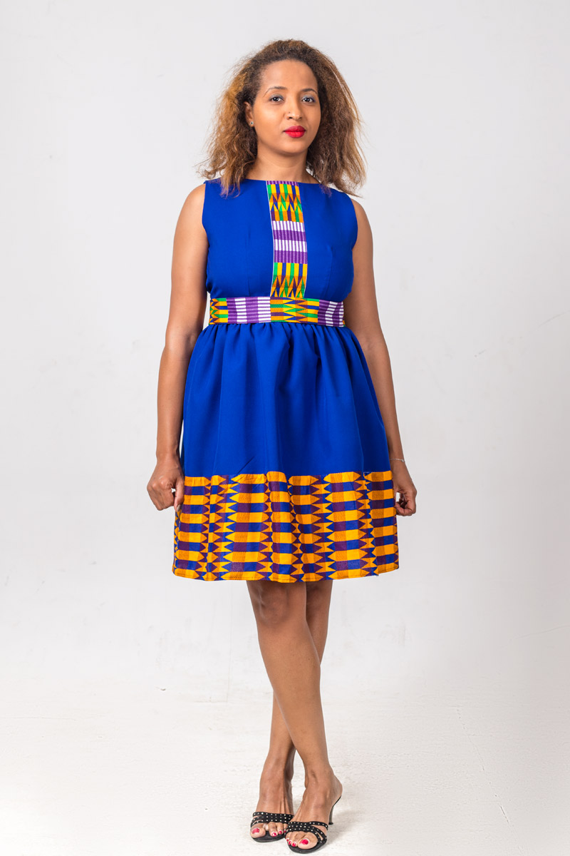 Caro Dress by Ysand - African Clothing