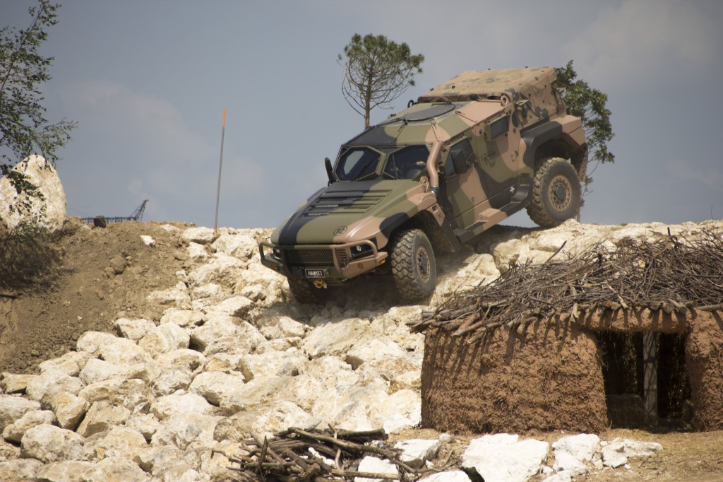 The Thales Hawkei light tactical vehicle. Weighing 7 tons (without additional applique armour which can be added as necessary), at that weight it can be carried by a Chinook.