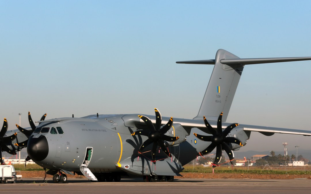 First Airbus A400M airlifter for Malaysia rolled out of