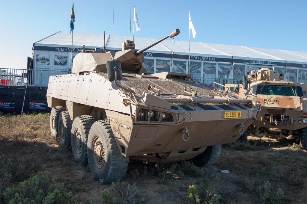 Denel Badger IFV Section Variant, armed with the Denel GI-30 30mm cannon. ADR/DARREN OLIVIER
