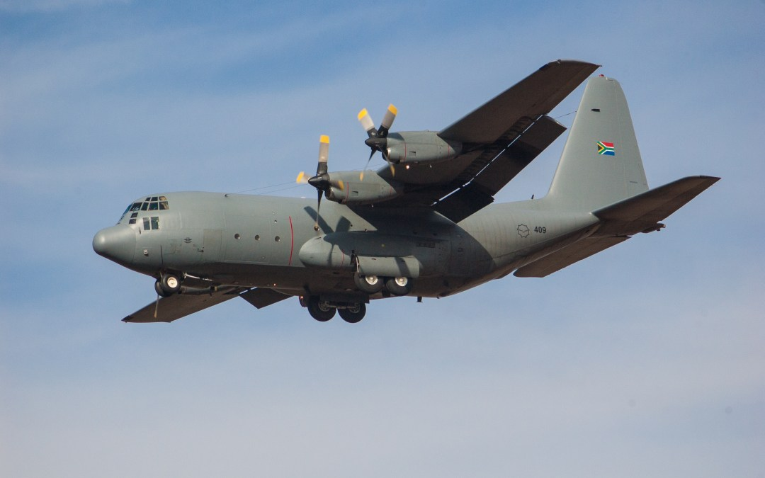 Destination of mystery Air Force Hercules flight revealed