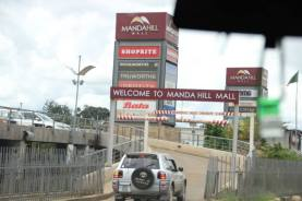 Manda Hill Mall, near where Fungai's family lived for a time.