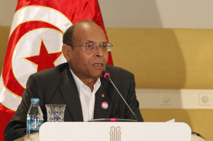 Ex-Tunisia president calls for protests against Kais Saied | News | Al Jazeera