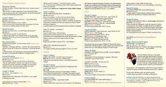 ottobre-africano-2013-programma