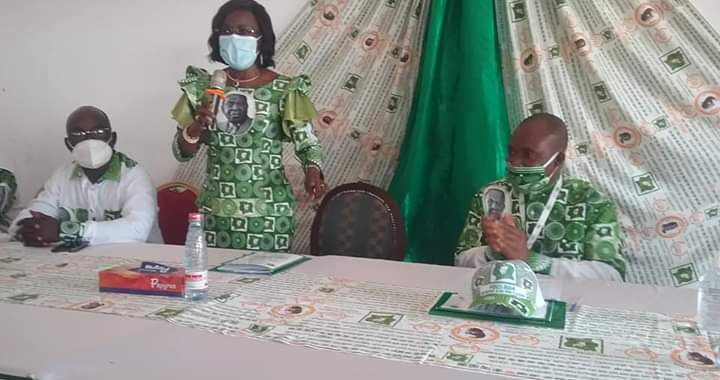 Pdci-Rda/Convention locale: Les 7 délégations de Gagnoa, 100% HKB-86, Bobi-Assa félicite les 7 délégués