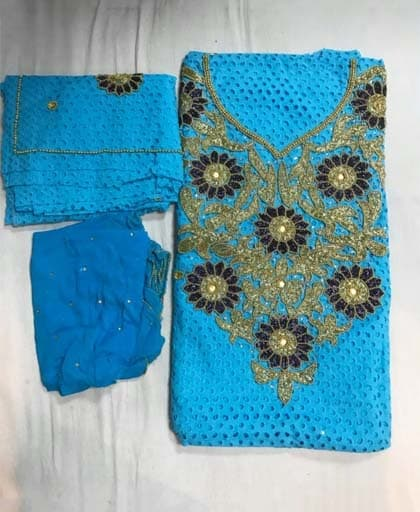 African Lace Boubou For Party