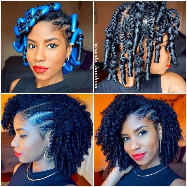 Easy diy natural hair styles
