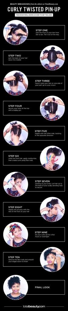 Easy diy natural hair styles 3