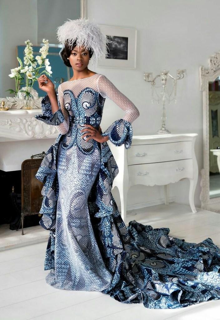 THE BEST ANKARA DRESS STYLES IN 2019 34