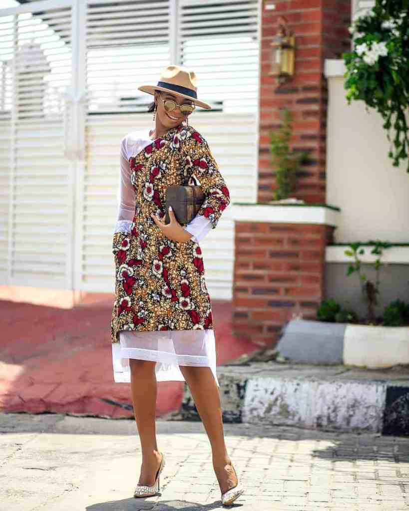 20+ STYLISH AND TRENDY ANKARA DRESSES 5