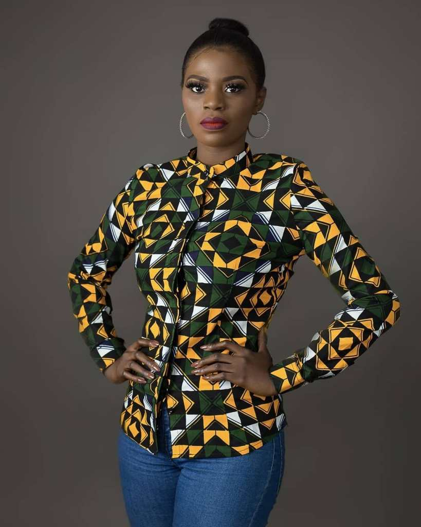 Beautiful ankara tops