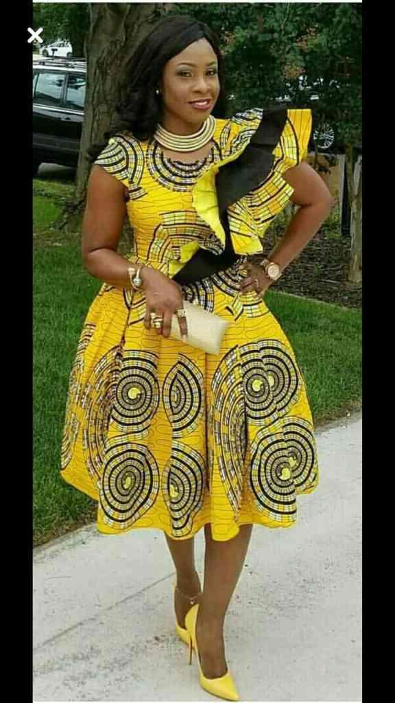 Plus size Ankara dresses 4