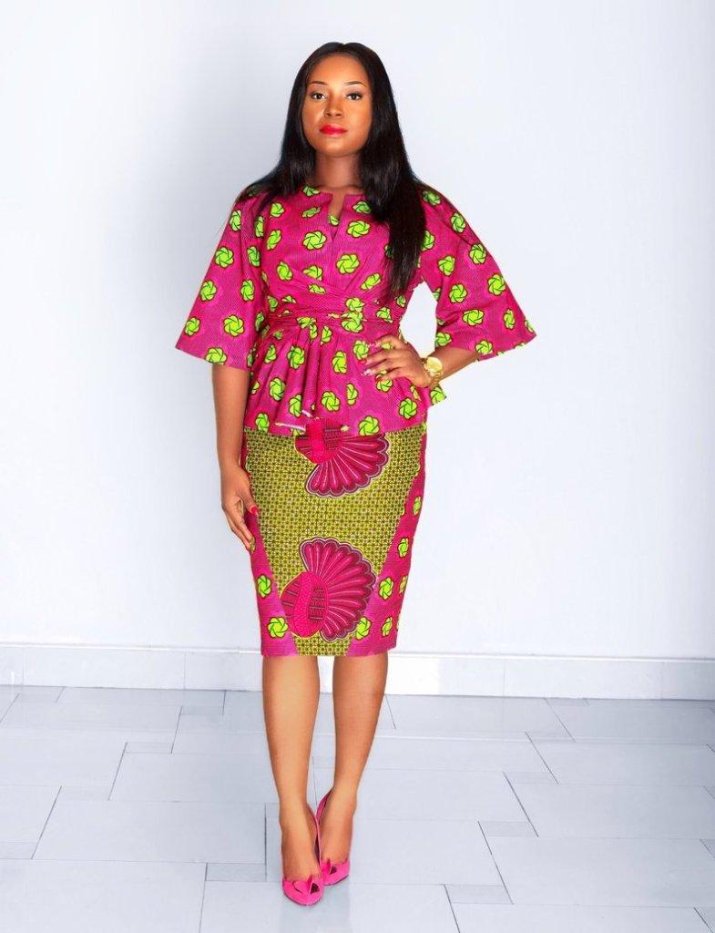 THE BEST ANKARA DRESS STYLES IN 2019 62