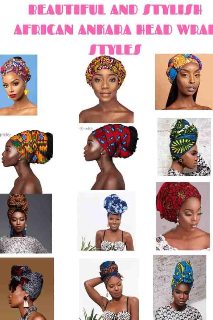 BEAUTIFUL AND STYLISH AFRICAN ANKARA HEAD WRAPS 26