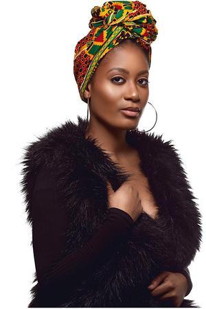 BEAUTIFUL AND STYLISH AFRICAN ANKARA HEAD WRAPS 17