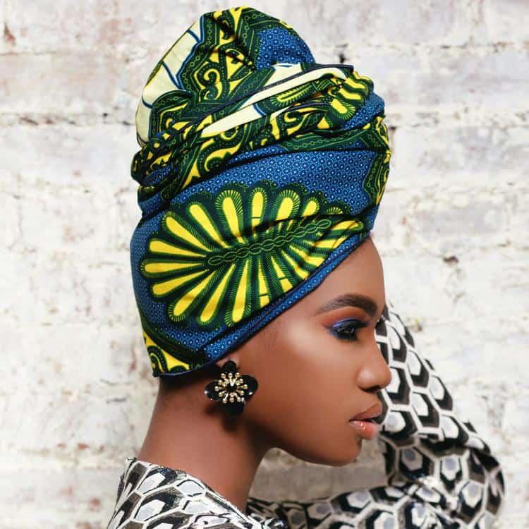 BEAUTIFUL AND STYLISH AFRICAN ANKARA HEAD WRAPS 4