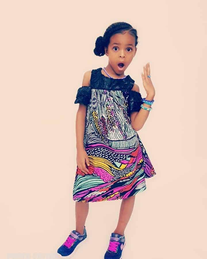 BEAUTIFUL ANKARA STYLES FOR KIDS 2019 15