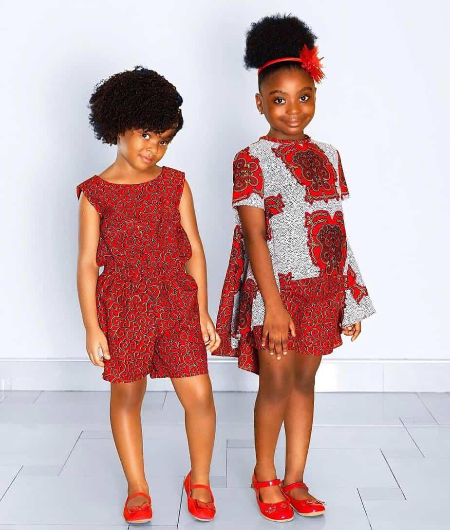 BEAUTIFUL ANKARA STYLES FOR KIDS 2019 , African fashion