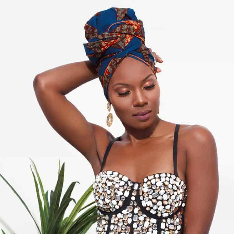 BEAUTIFUL AND STYLISH AFRICAN ANKARA HEAD WRAPS 8
